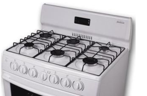 Image of a Gas_6_Ring on the oven cleaning prices page