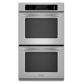 Image of a double oven on the oven cleaning prices page